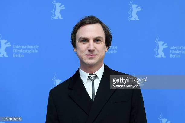 Lars Eidinger the Persian Lesson photo call during the 70th Berlinale International Film Festival Berlin at Grand Hyatt Hotel on February 22 2020 in...