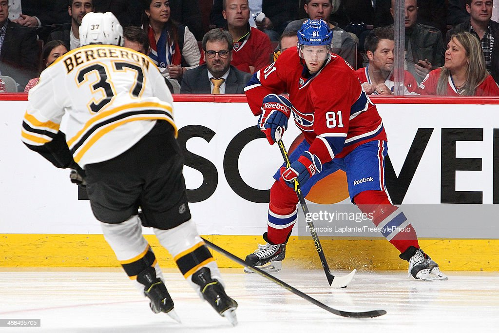 Boston Bruins v Montreal Canadiens - Game Three : News Photo