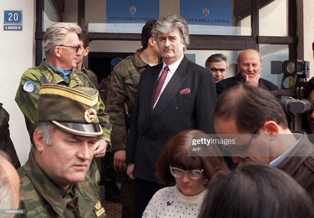 BOSNIA-WAR-KARADZIC-MLADIC-TALKS : News Photo