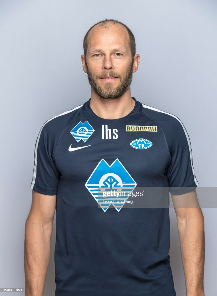 Lars Haavard Saebo of Team Molde FK Photocall on February 21, 2017 in Molde, Norway.