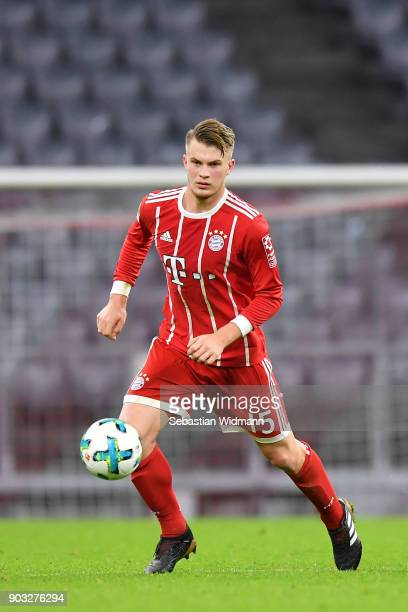 OLYMPIQUE LYONNAIS MAG'S Lars-lukas-mai-of-bayern-muenchen-plays-the-ball-during-the-friendly-picture-id903276294?s=612x612