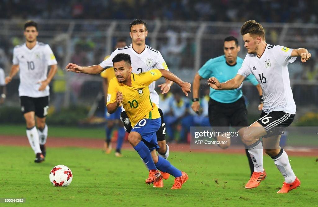 FBL-U17-WC-2017-BRA-GER : News Photo