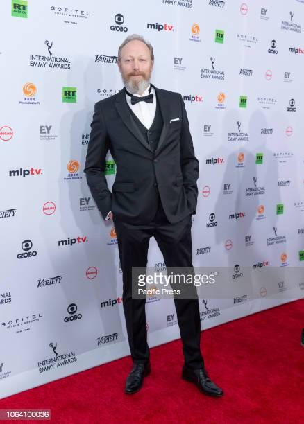 Lars Mikkelsen attends the 46th Annual International Emmy Awards at New York Hilton