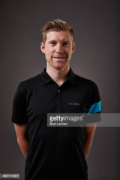 Lars Petter Nordhaug poses during a Team SKY portrait session on October 21 in Weymouth, England.