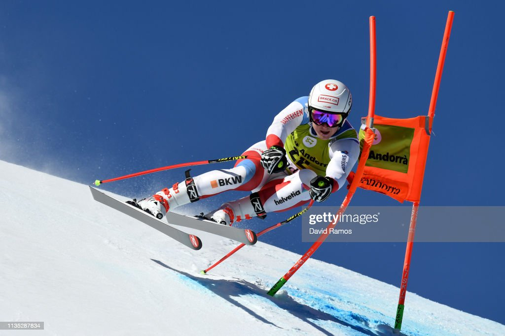 AND: Audi FIS Alpine Ski World Cup - Men's and Women's Downhill Training