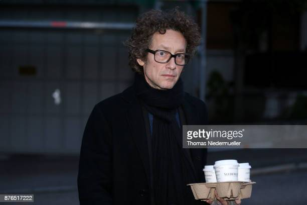 Lars Schlecker son of Anton Schlecker founder of the now bankrupt German drugstore chain Schlecker arrives for the day defense and prosecution...