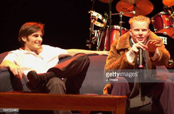 Lars Schlichting and Matt Smyth during The Real World Reunion Tour at Beacon Theatre in New York City New York United States