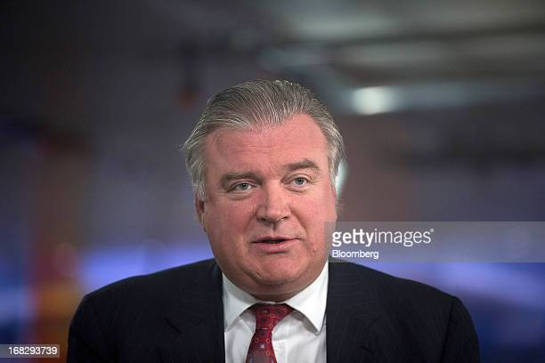 Lars Seier Christensen, co-chief executive officer of Saxo Bank A/S, speaks during a Bloomberg Television interview in London, U.K., on Tuesday, May...