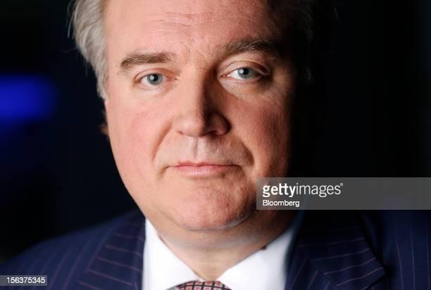 Lars Seier Christensen, co-chief executive officer of Saxo Bank A/S, poses for a photograph in London, U.K., on Wednesday, Nov. 14, 2012. Saxo Bank...