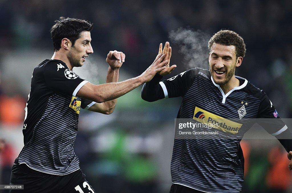 VfL Borussia Moenchengladbach v Sevilla FC - UEFA Champions League : News Photo