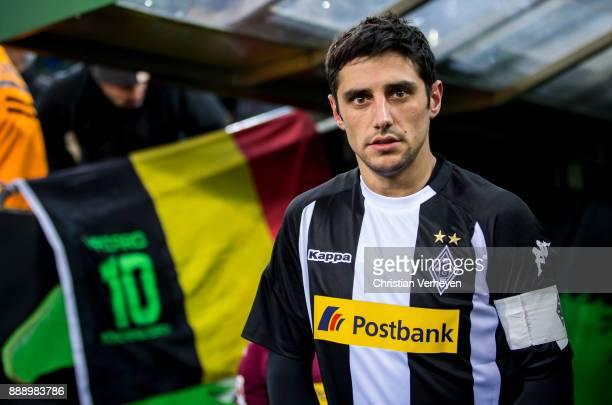 Lars Stindl of Borussia Moenchengladbach prior the Bundesliga match between Borussia Moenchengladbach and FC Schalke 04 at BorussiaPark on December...