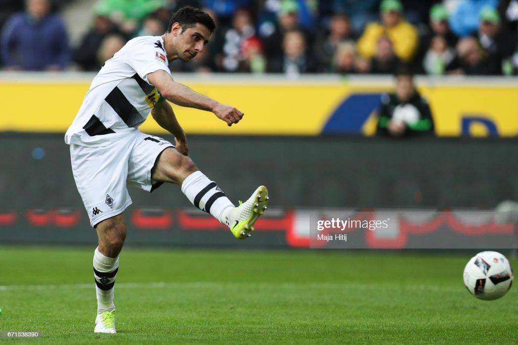 Borussia Moenchengladbach v Borussia Dortmund - Bundesliga : Nachrichtenfoto