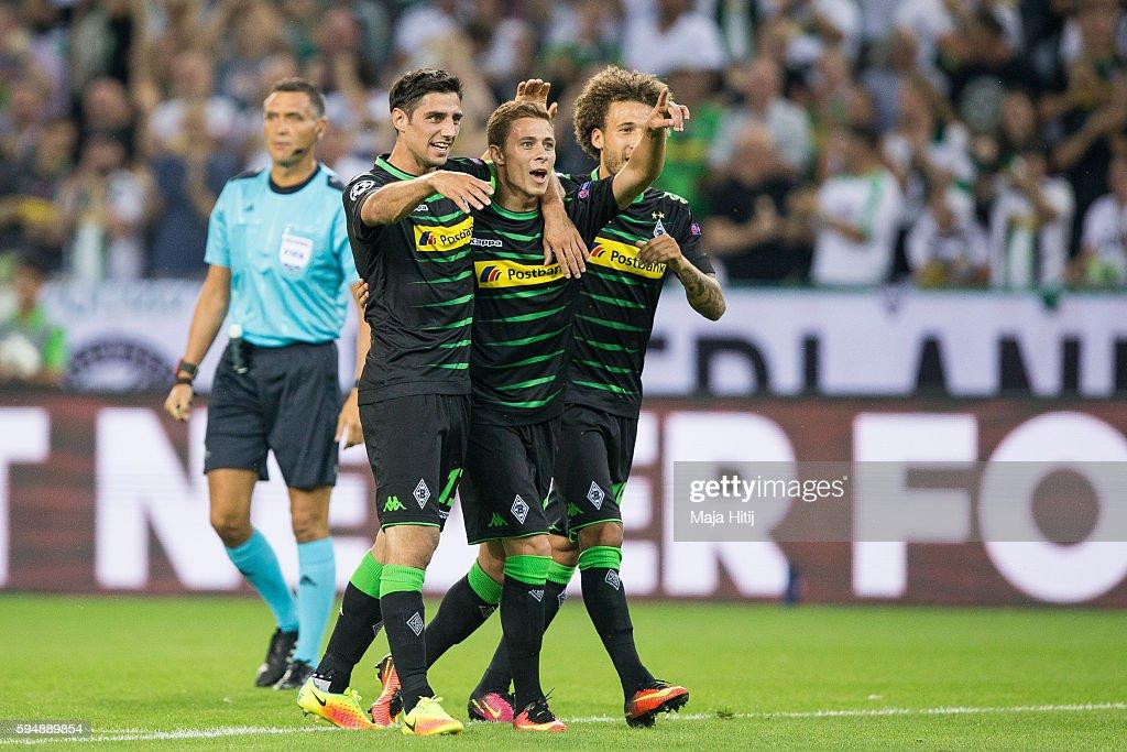 Borussia Moenchengladbach v YB Bern - UEFA Champions League Qualifying Play-Offs Round: Second Leg : News Photo