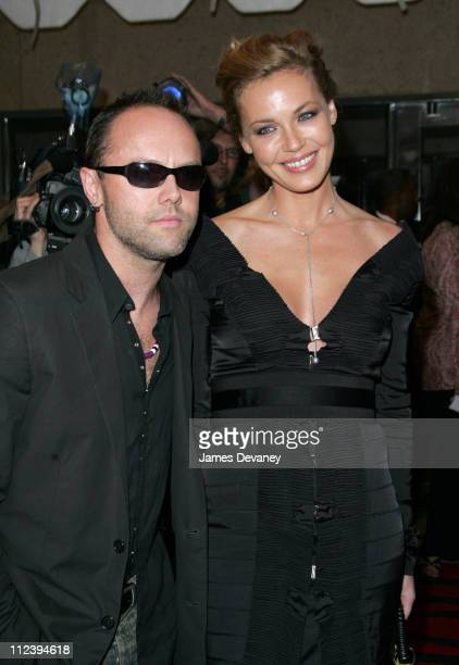 Lars Ulrich and Connie Nielsen during 2004 Toronto International Film Festival 'Return To Sender' Premiere at Roy Thompson Hall in Toronto Ontario...