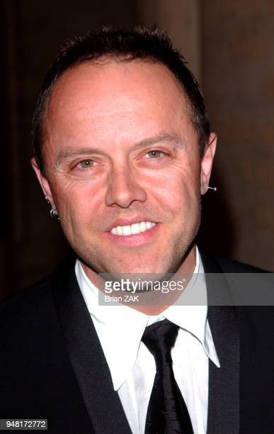 Lars Ulrich arrives to Hans Christian Andersen Bicentenial Gala Dinner held at the New York Public Library New York City