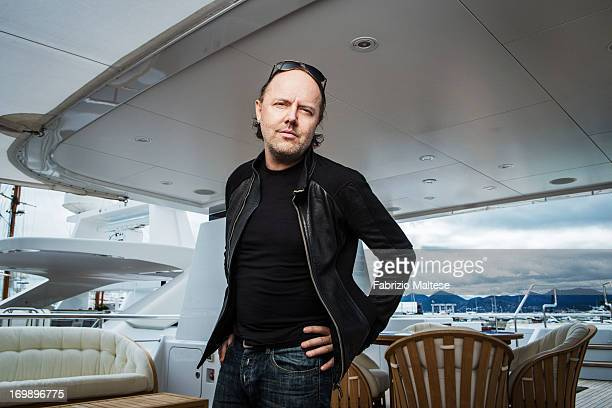 Lars Ulrich is photographed for Self Assignment on May 20 2013 in Cannes France