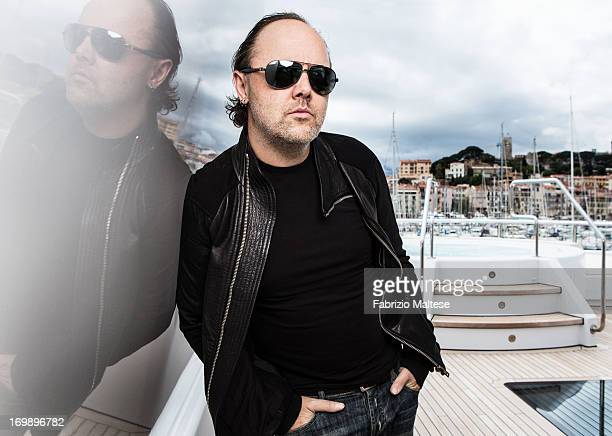 Lars Ulrich is photographed for The Hollywood Reporter on May 20 2013 in Cannes France
