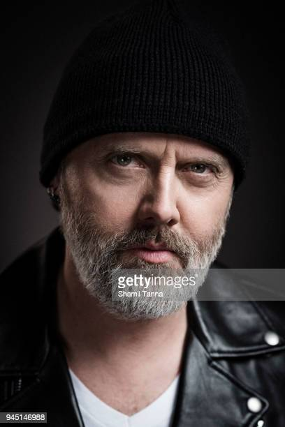 Lars Ulrich of heavy metal band Metallica is photographed for Red Bulletin on November 17 2016 in London England