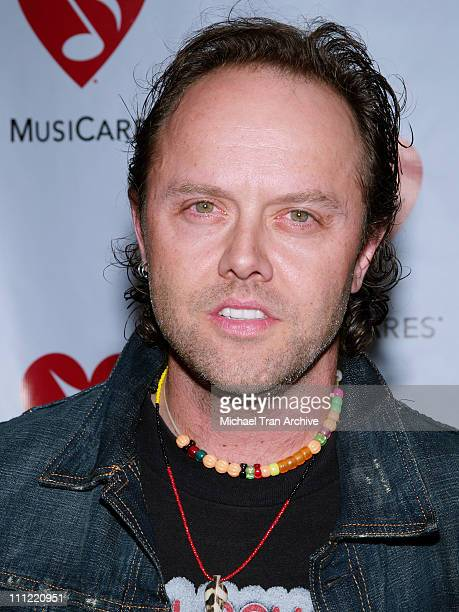 Lars Ulrich of Metallica during 2nd Annual MusiCares MAP Fund Benefit Concert Honoring James Hetfield and Bill Silva at Henry Fonda Music Box in...