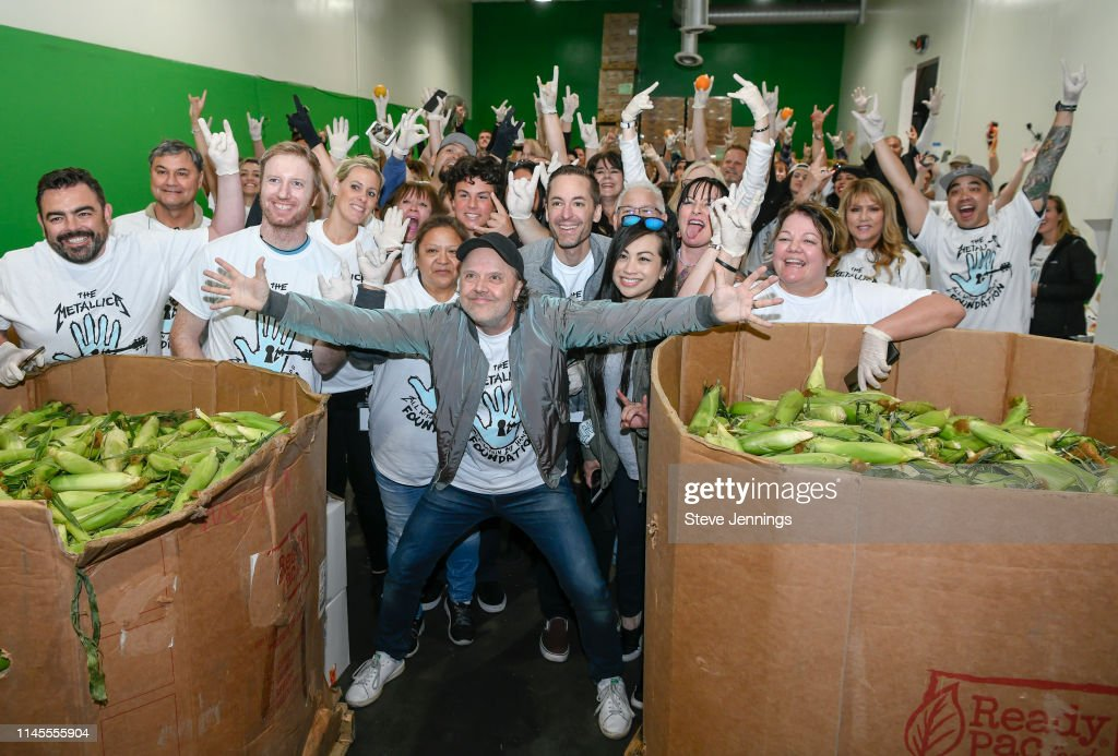 "CA: 2nd Annual Day Of Service Hosted By Metallica's ""All Within My Hands Foundation"""