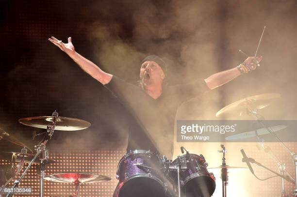 Lars Ulrich of Metallica In Concert East Rutherford NJ on May 14 2017 in East Rutherford City