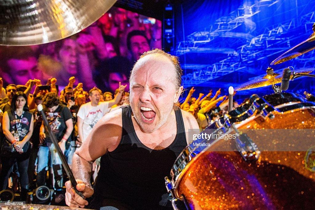 Metallica In Italy : News Photo