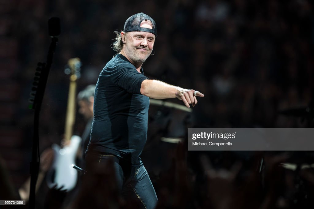 Metallica Perform in Concert in Stockholm : News Photo