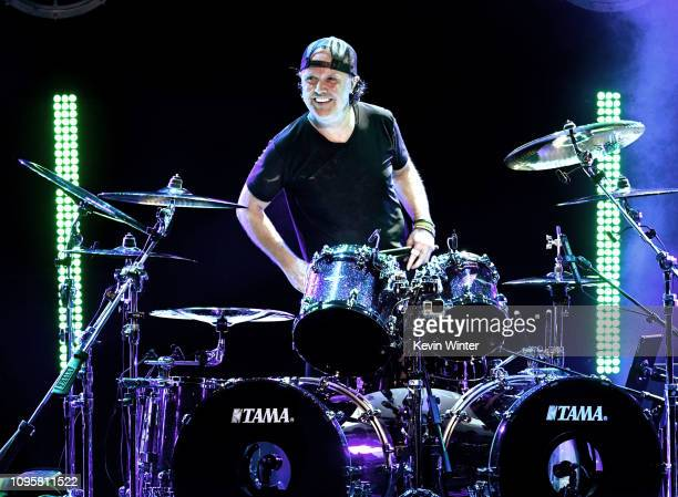 Lars Ulrich performs at I Am The Highway A Tribute to Chris Cornell at the Forum on January 16 2019 in Inglewood California