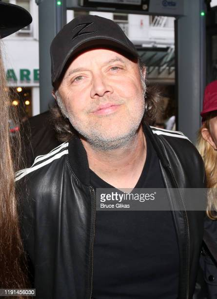 Lars Ulrich poses at the opening night of Harry Potter and The Cursed Child Parts One 2 at The Curran Theatre on December 1 2019 in San Francisco...