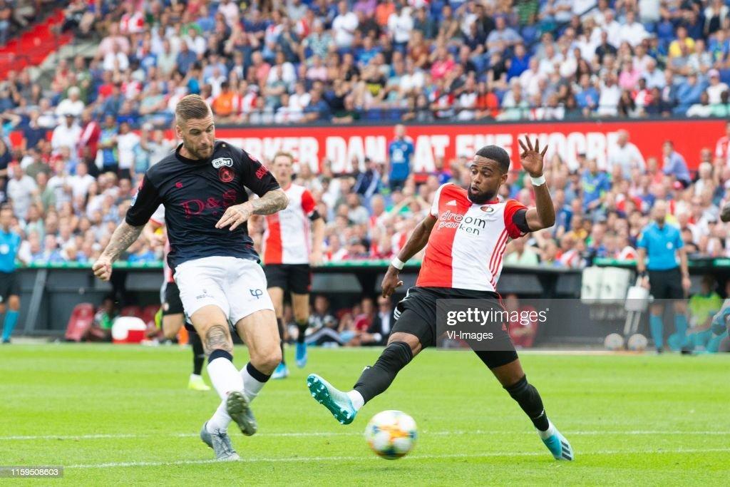 Lars Veldwijk Of Sparta Rotterdam Jeremiah St Juste Of Feyenoord News Photo Getty Images
