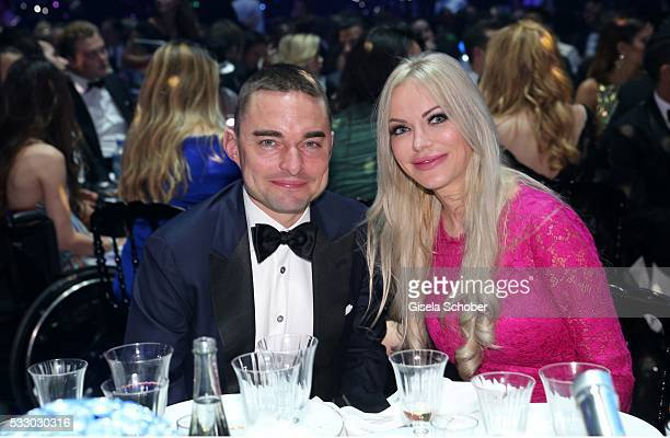 Lars Windhorst and Christine Barner attend the amfAR 's 23rd Cinema Against AIDS Gala at Hotel du CapEdenRoc on May 19 2016 in Cap d'Antibes France