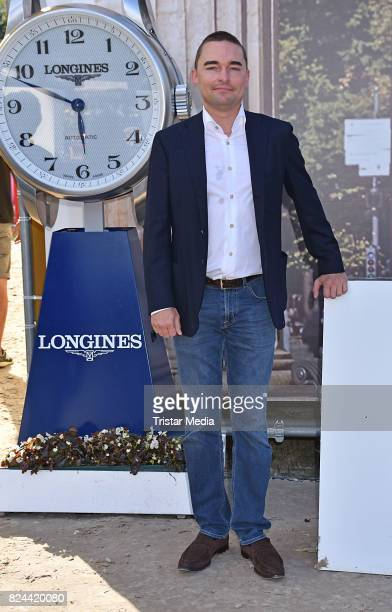 Lars Windhorst during the Global Jumping at Longines Global Champions Tour at Sommergarten unter dem Funkturm on July 29 2017 in Berlin Germany