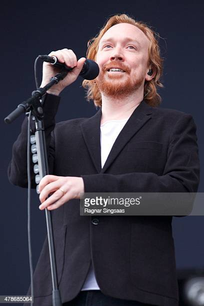 Lars Winnerback performs onstage during day two of the Bravalla Festival on June 26, 2015 in Norrkoping, Sweden.