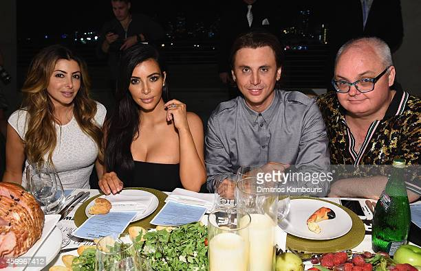 Larsa Pippen and Kim Kardashian Jonathan Cheban and Mickey Boardman attend Paper Magazine Sprout By HP DKNY Break The Internet Issue Release at 1111...