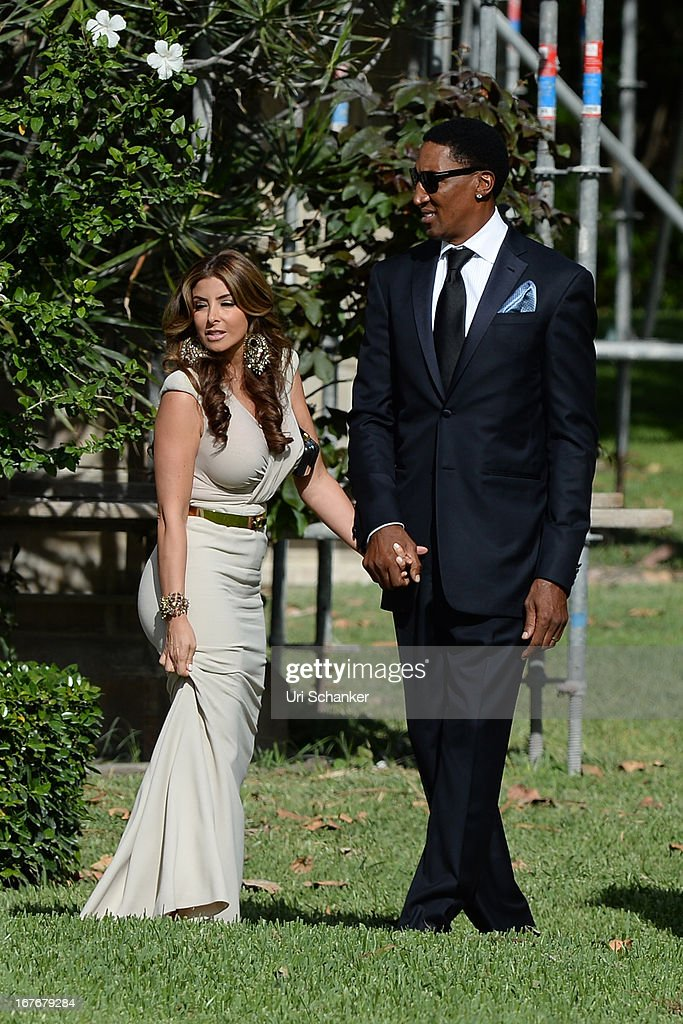 Larsa Pippen and Scottie Pippen are sighted at Michael ...