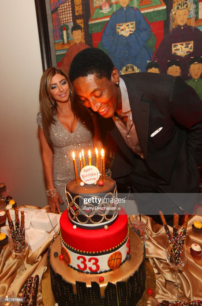 Scottie Pippen's Surprise Birthday Celebration