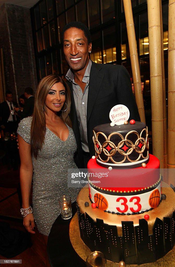 Scottie Pippen's Surprise Birthday Celebration