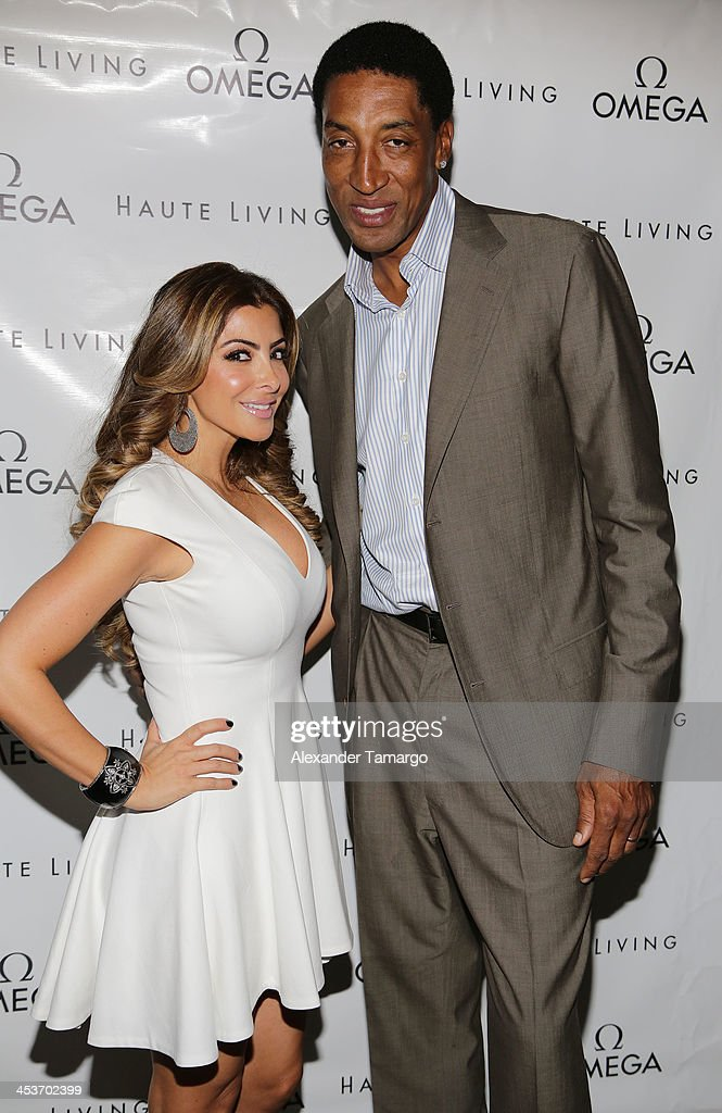 Haute Living OMEGA Event Hosted By Larsa And Scottie Pippen
