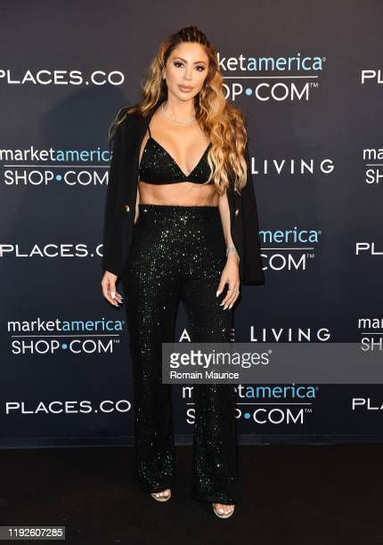 Larsa Pippen attends SHOPCOM Haute Living's celebration of the release of Family Ties Fat Joe's newest last album at the Ridinger Estate on December...