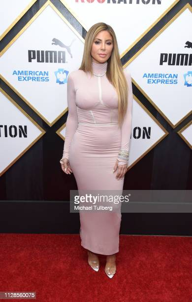Larsa Pippen attends the 2019 Roc Nation THE BRUNCH on February 09 2019 in Los Angeles California