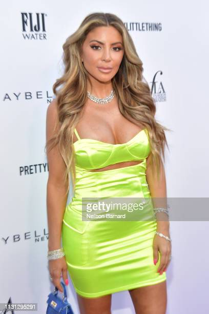 Larsa Pippen attends The Daily Front Row Fashion LA Awards 2019 on March 17 2019 in Los Angeles California