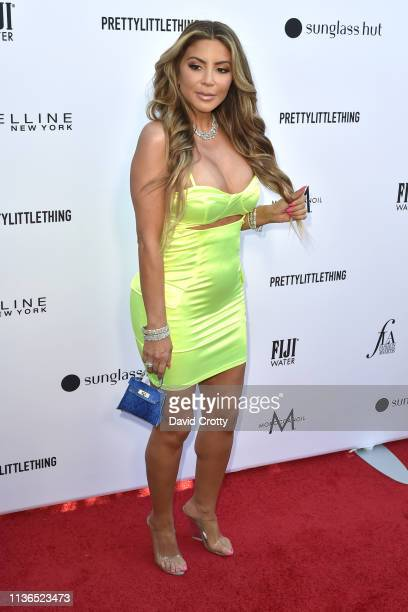 Larsa Pippen attends The Daily Front Row Fifth Annual Fashion Los Angeles Awards at Beverly Hills Hotel on March 17 2019 in Beverly Hills California