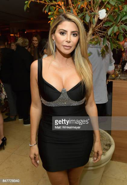 Larsa Younan attends the 2017 Entertainment Weekly PreEmmy Party at Sunset Tower on September 15 2017 in West Hollywood California