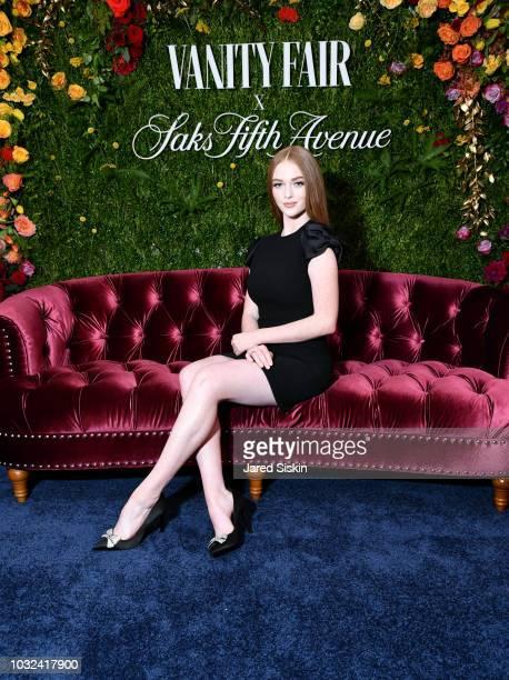 Larsen Thompson attends as Vanity Fair and Saks Fifth Avenue celebrate Vanity Fair's BestDressed 2018 at Manhatta on September 12 2018 in New York...