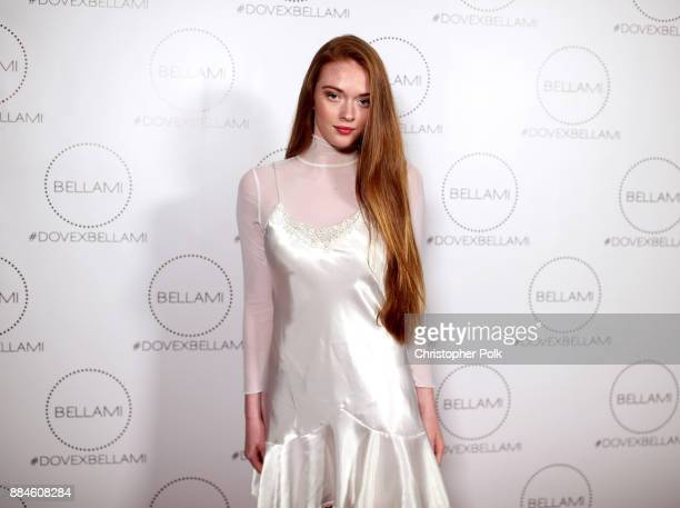 Larsen Thompson attends the Dove x BELLAMI Collection launch party hosted by Dove Cameron and BELLAMI Hair at Unici Casa Gallery on December 2 2017...