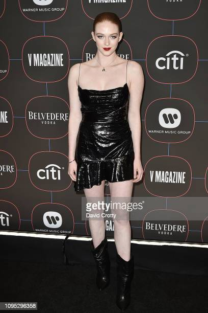 Larsen Thompson attends the Warner Music Group PreGrammy Celebration at Nomad Hotel Los Angeles on February 7 2019 in Los Angeles California