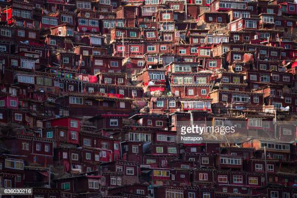 Larung Gar, Tibetan buddish accademy in Tibet China.
