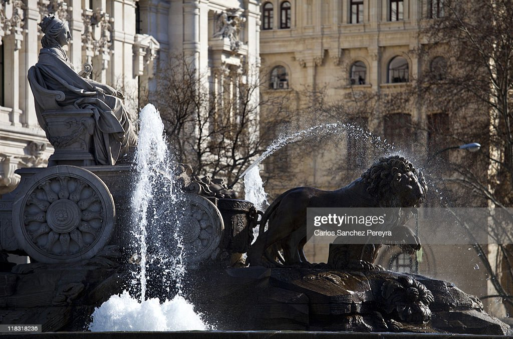 Las Cibeles, Madrid : Foto de stock