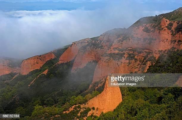 Las MŽdulas ancient roman gold mining site Le—n province CastillaLe—n Spain