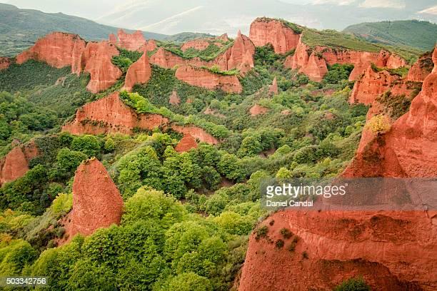 Las Médulas ancient roman mines, León (Spain)